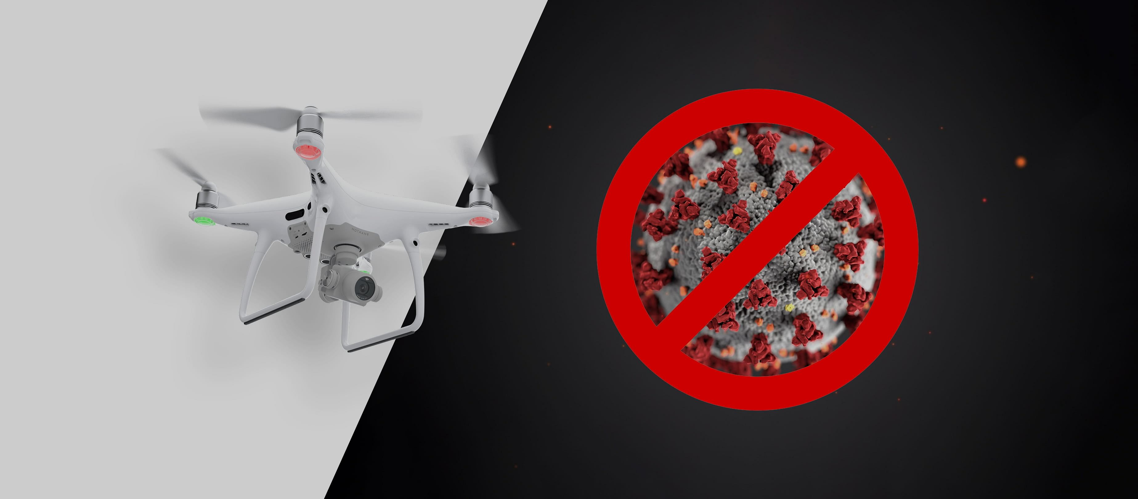 Drones Help Authorities & Businesses Fight COVID-19
