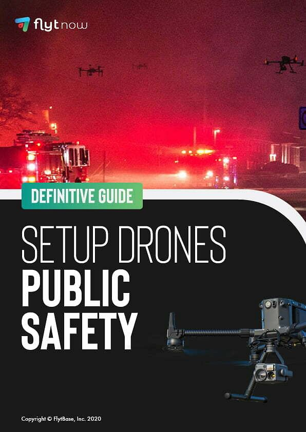 using drones for public safety