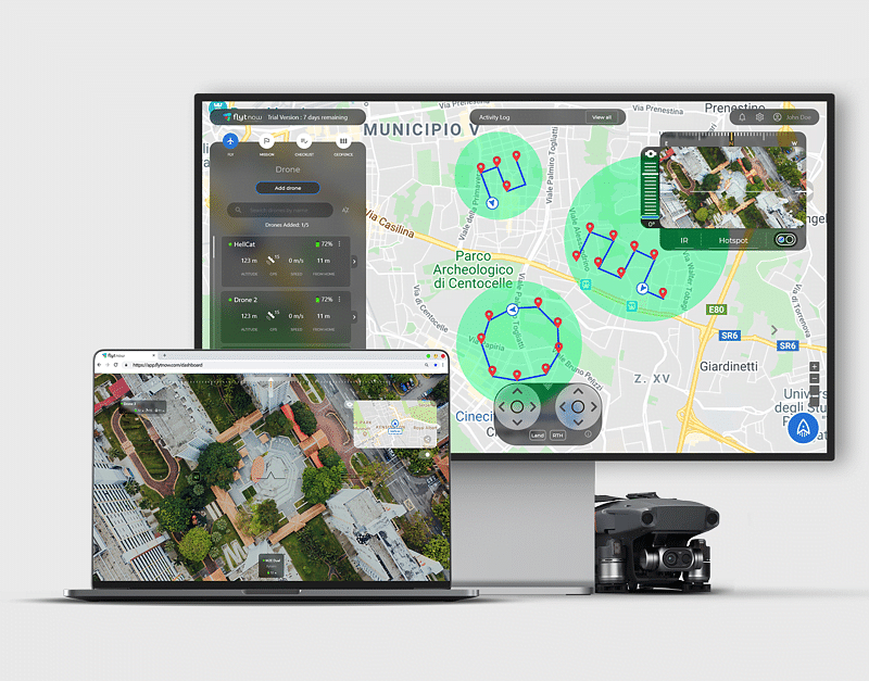 Public Safety Drone Software