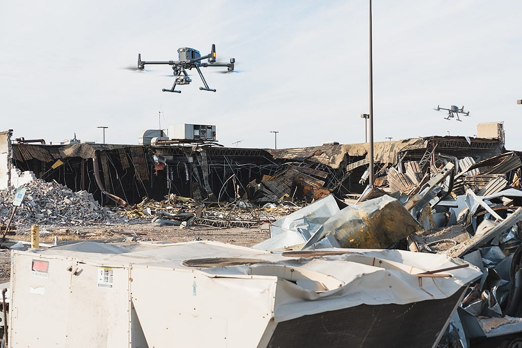 drone disaster monitoring