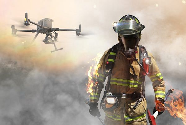 drones for firefighting