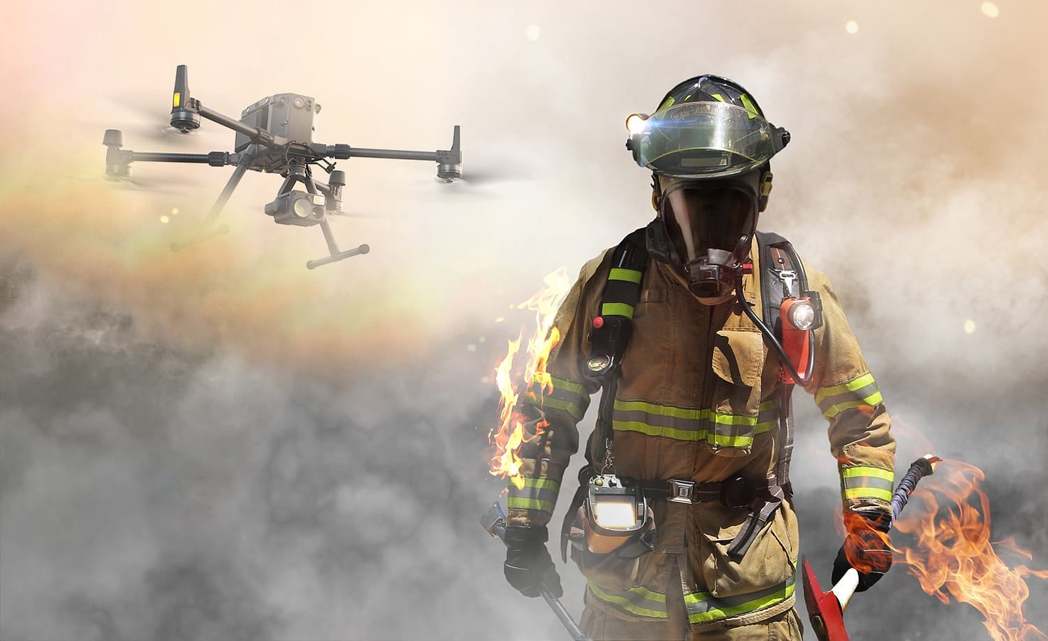 How Firefighters Can Better Manage Emergency Situations Using Drones